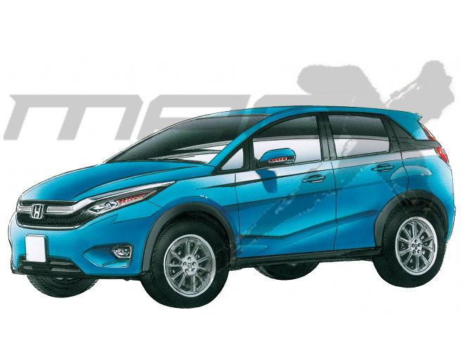 Honda-Brio-Based-Compact-SUV-Render-Pic