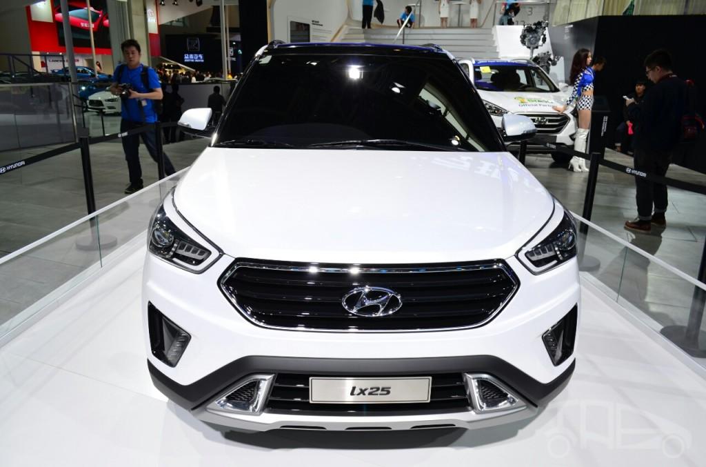 Hyundai-ix25-SUV-China-show-pics-white-front