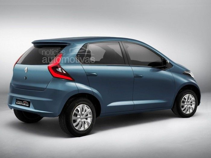 new car launches april 2015TECH REDEFINED Handsome RediGO based Renaults Small Car XBA