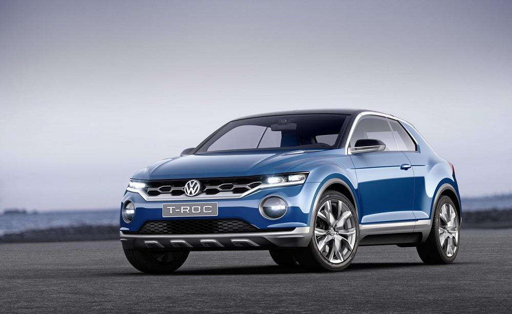 Volkswagen-TROC-SUV-Front
