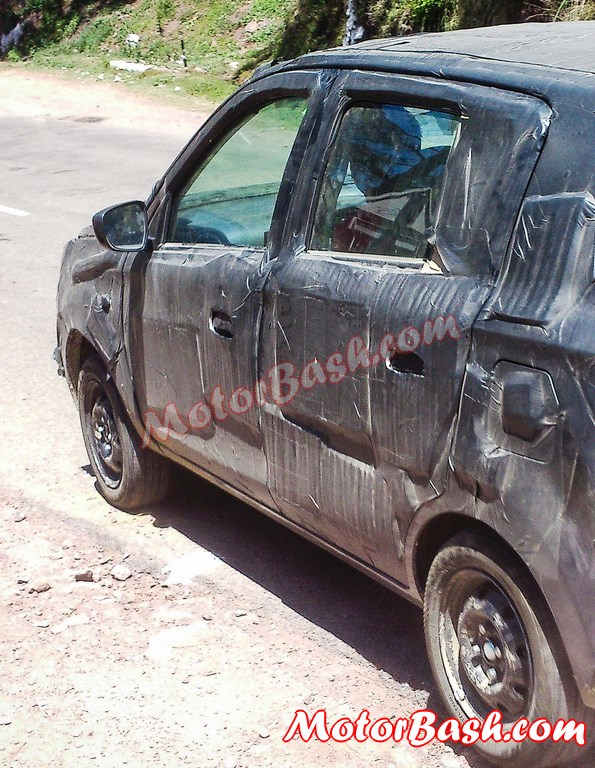 2014-Alto-K10-Facelift-Spy-Pics-Rear (2)