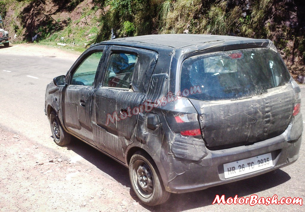 2014-Alto-K10-Facelift-Spy-Pics-Rear (3)