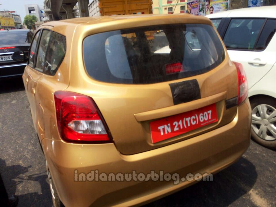 First Ever Spyshots Of Sub 4 Meter 7 Seater Go Mpv From India