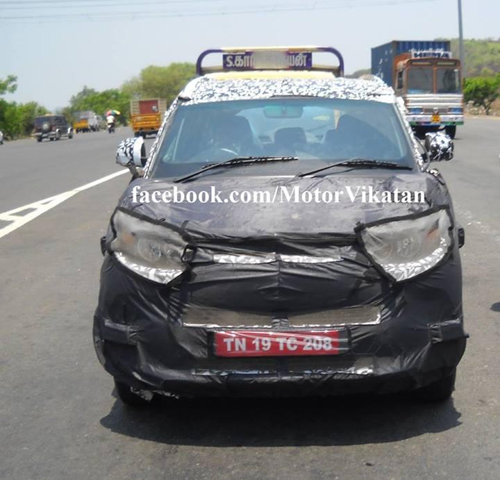 Mahindra-S101-Spy-Pics-front
