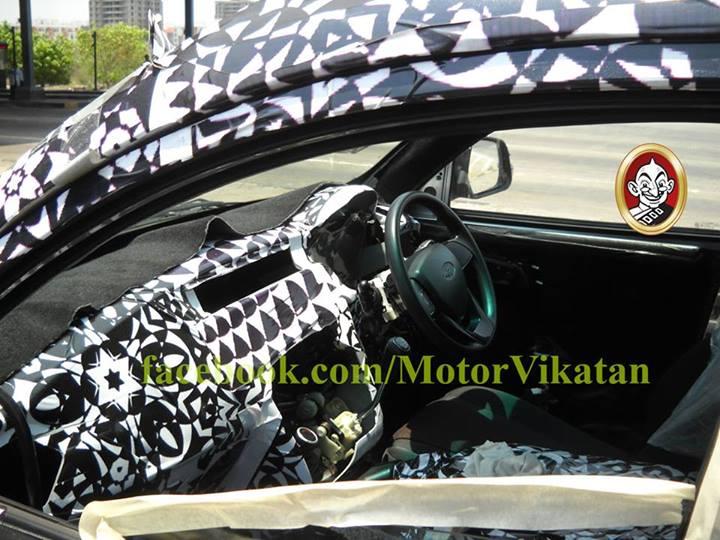Mahindra-S101-Spy-Pics-interiors