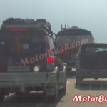 MB Reader Spies the Mysterious Mahindra SUV Mule Along with Scorpio