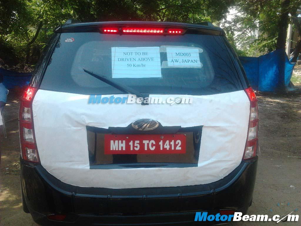 Mahindra-XUV500-Automatic-Aisin-spy-pic (1)