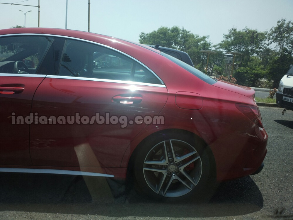 Mercedes-CLA-45-AMG-India-Spyshots-rear (1)