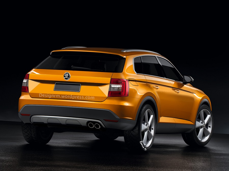 skoda to launch snowman a plus 7 seater suv bigger than yeti. Black Bedroom Furniture Sets. Home Design Ideas