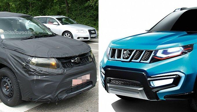 First Spyshots of India Bound Suzuki's iV-4 SUV Appear Online
