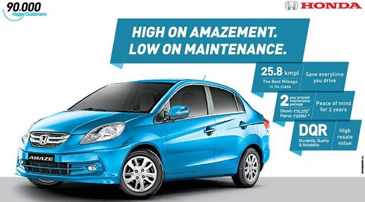 Honda-Amaze-Sales