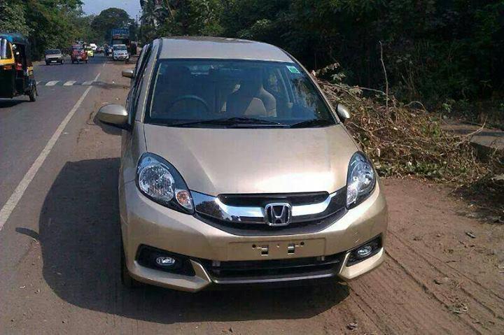 Honda-Mobilio-MPV-Pic-India-front