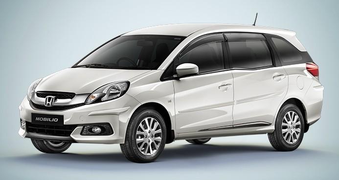 Honda-Mobilio-MPV-White-Front