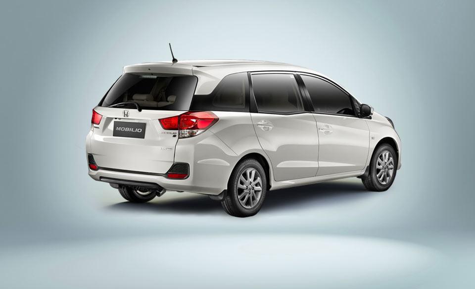 Honda-Mobilio-MPV-White-Rear