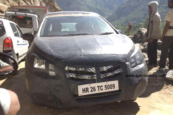 Maruti-Suzuki-S-Cross-India-Spy-Pic-front