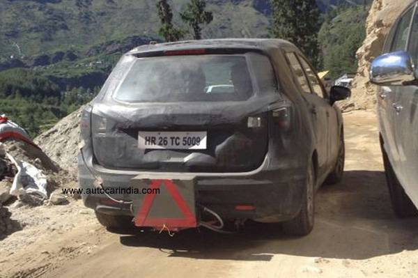 Maruti-Suzuki-S-Cross-India-Spy-Pic-rear
