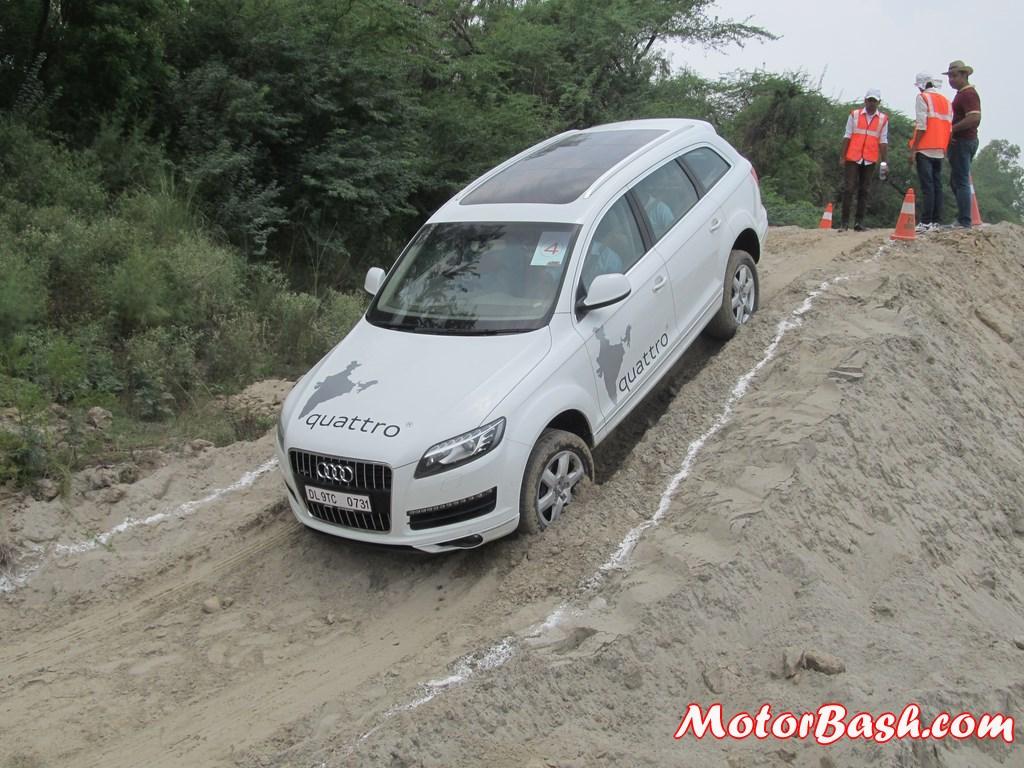 Audi Q Drive Off Road Experience 57 Pics