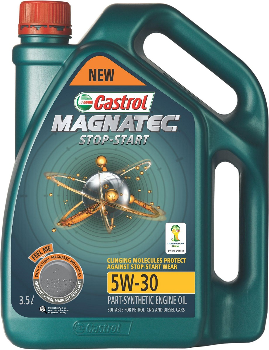 New castrol magnatec start stop engine oil launched to for What kind of motor oil
