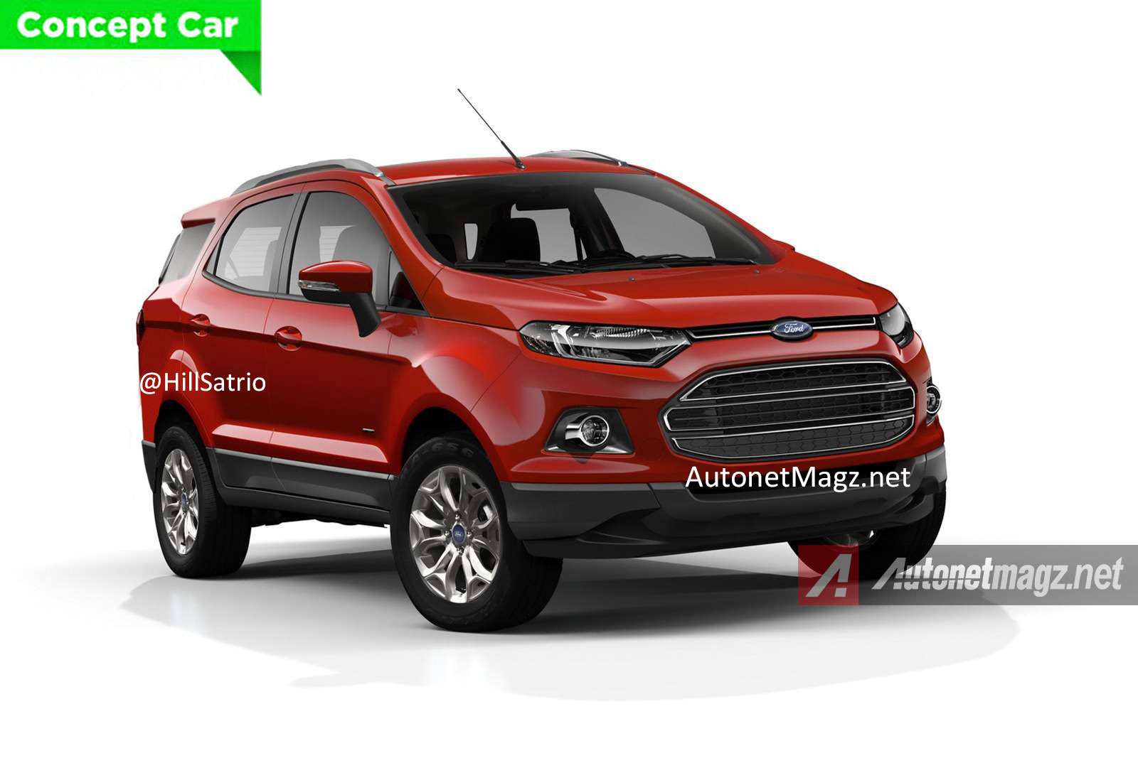 Ford Ecosport 7 Seat Pic Front