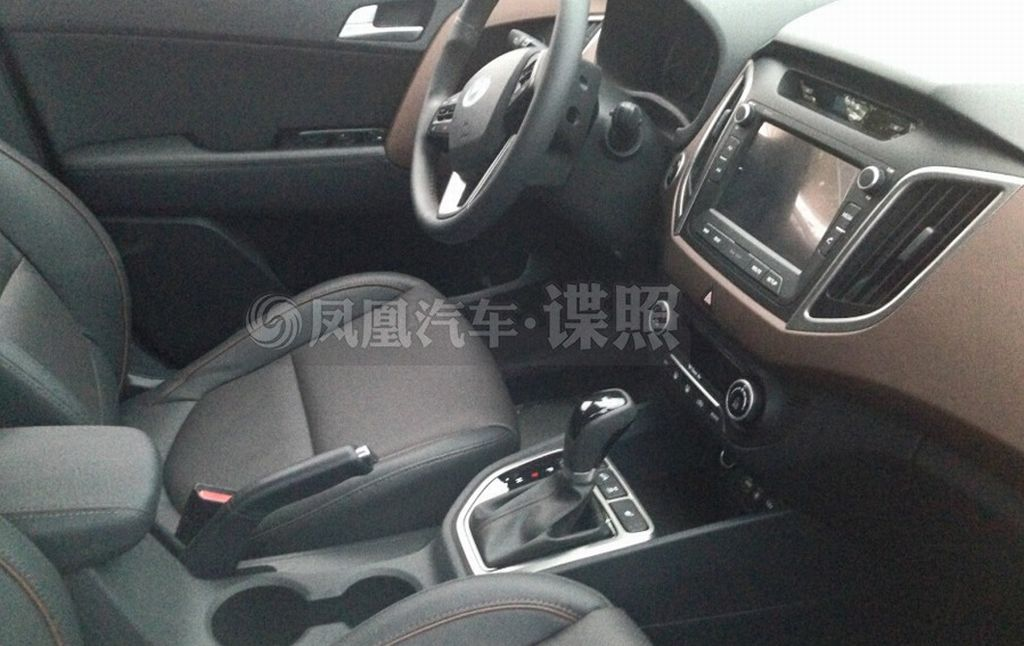 India Bound Hyundai Ix25 Compact Suv Spied Interiors Revealed