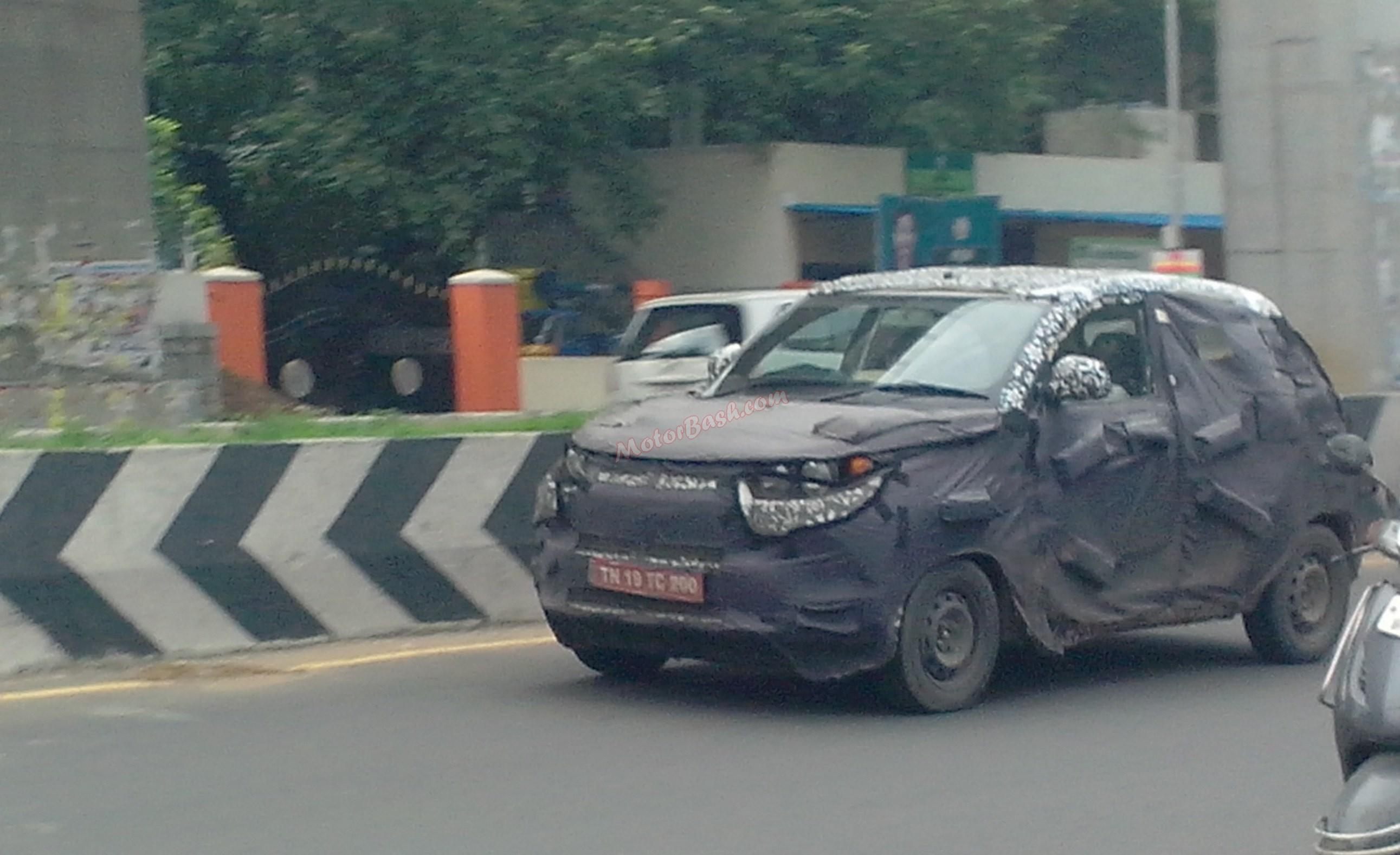 Mahindra-S101-Spy-Pic-Front