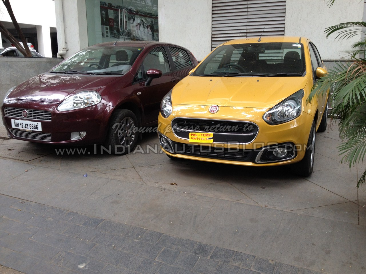 New Punto Evo vs Old Punto: Spotetd; Interiors & Rear AC Vents Revealed