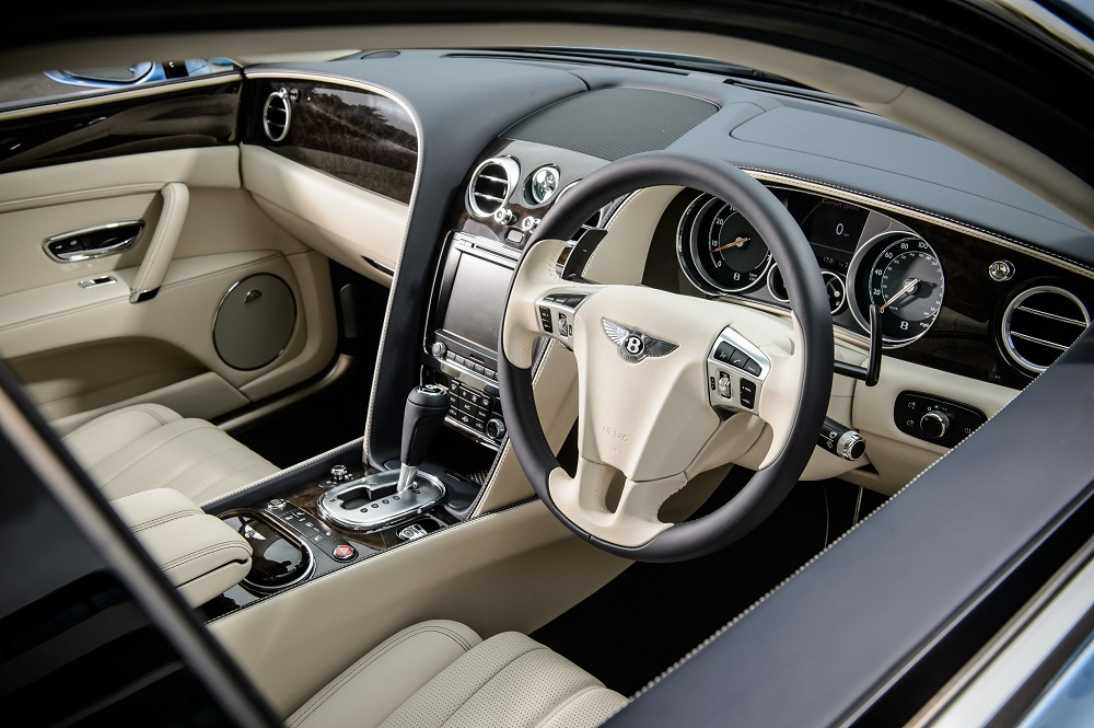 2012 Bentley Continental Flying Spur Interior 2017