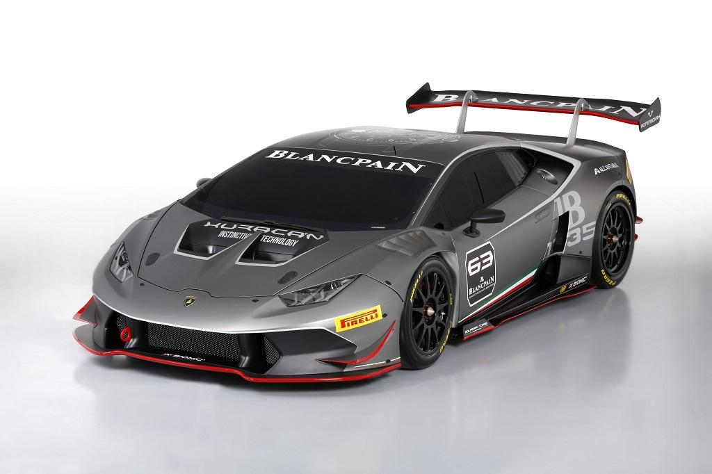 Lamborghini Huracan LP 620-2 Super Trofeo 3-4 Front
