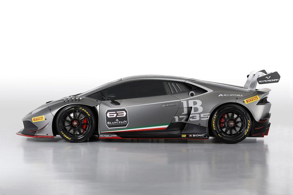 Lamborghini Huracan LP 620-2 Super Trofeo Side