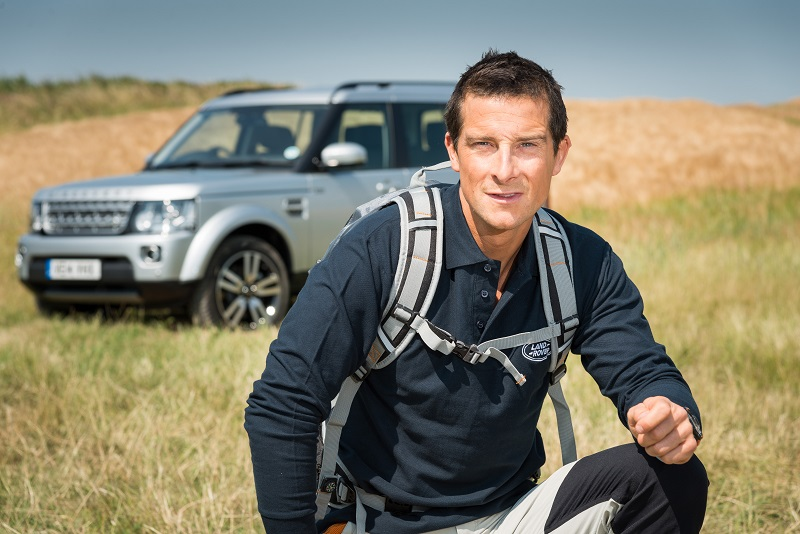 Man Vs Wild Fame Bear Grylls Is Land Rover S New Brand Ambassador