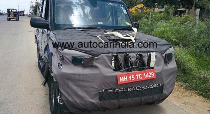 Mahindra-Scorpio-facelift