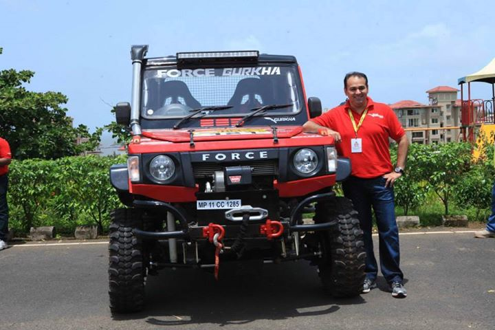 Modified-Off-road-Force-Gurkha-RFC-India