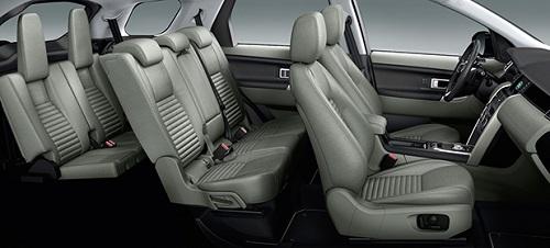 LR Discovery Sport interiors