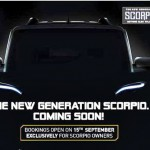 OFFICIAL: Scorpio Facelift Bookings Open; Launch on 25th; Heavy Discounts on Outgoing Model