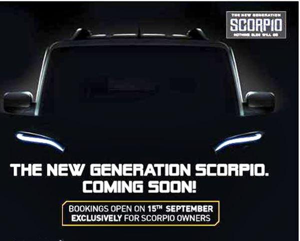 Mahindra Scorpio teaser