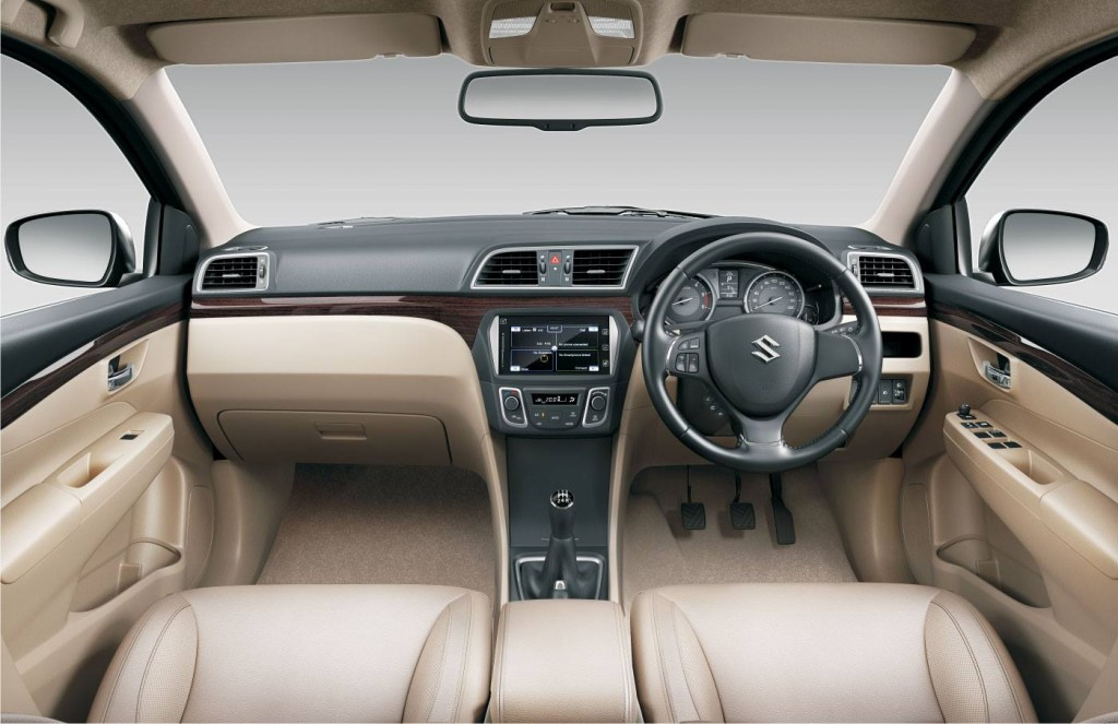 Maruti-Ciaz-Official-Pics-Dashboard-Interiors