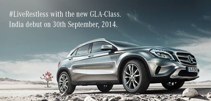 Mercedes-GLA-Class-India-Launch