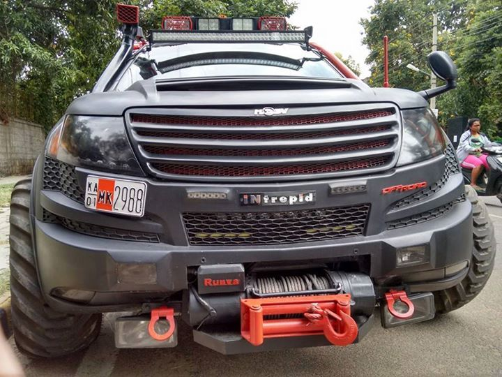 The Gallery For Gt Xuv 500 Exterior Modified