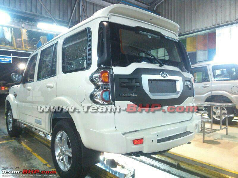 New-Scorpio-facelift-spy-pic-rear