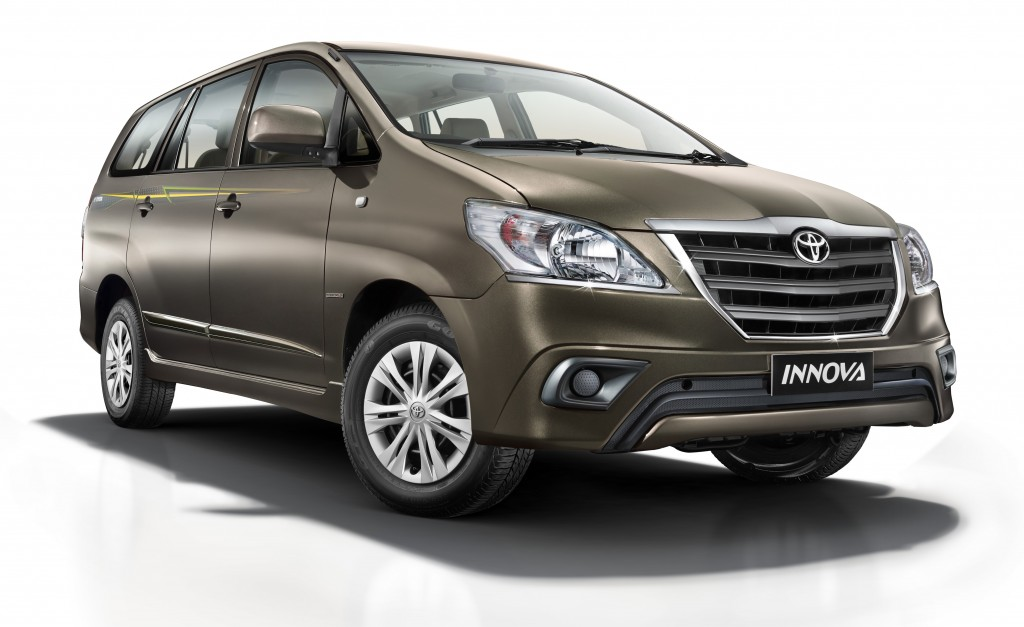 New 2014 Toyota Innova Limited Edition Launched: Price ...