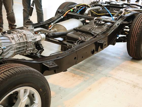 Mahindra-W105-chassis