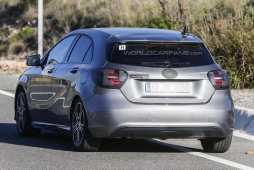 A-Class facelift rear