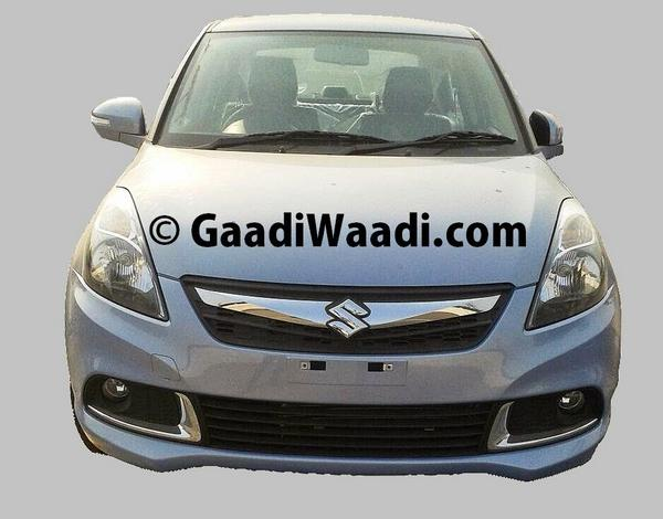 New-2015-Maruti-Dzire-Facelift-Spy-Pic-front