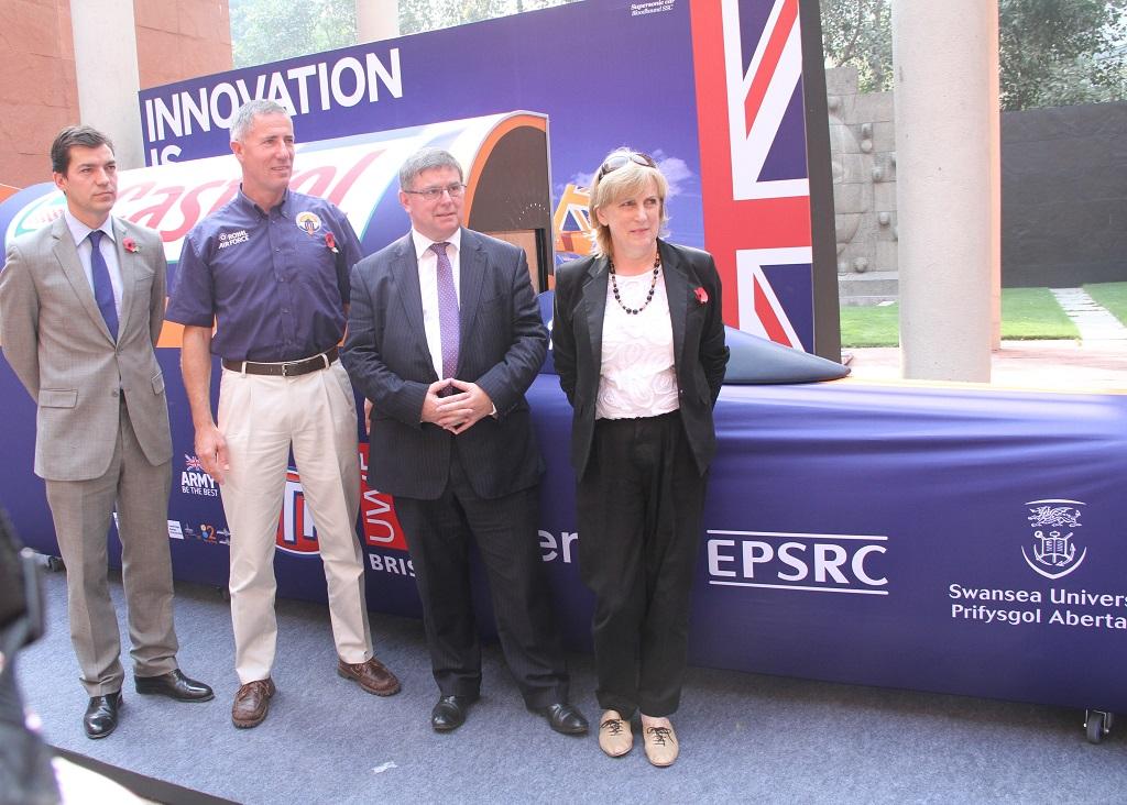 Bloodhound SSC via British Council