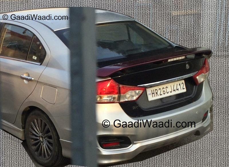 Maruti-Ciaz-RS-Spy-Pic (1)