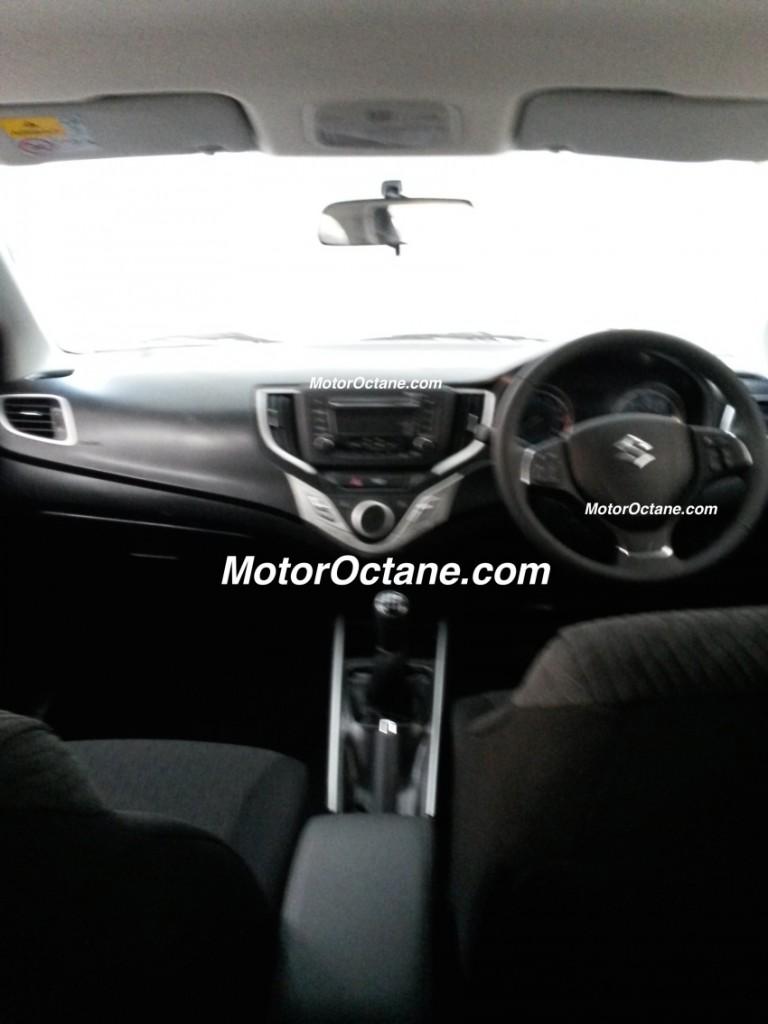 Maruti-Suzuki-YRA-Hatchback-Spy-Pics-interiors
