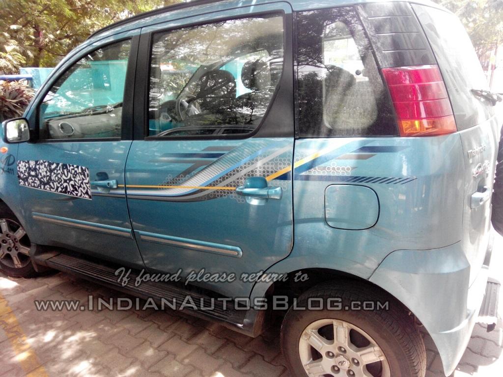 New-Mahindra-Quanto-Automatic-AMT-Auto-gearshift-spy-pics (3)