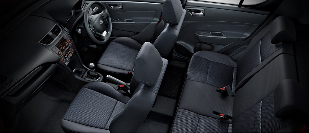 new Swift interiors