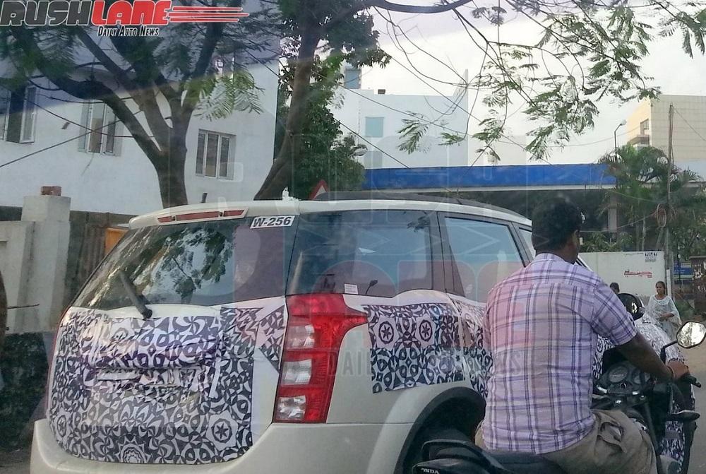 2015-Mahindra-XUV500-Spy-Pics-rear