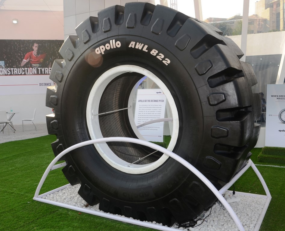 Apollo's AWL 822 - India's largest loader tyre